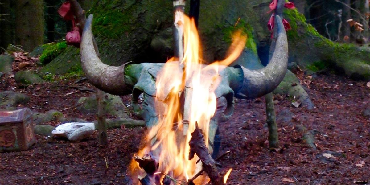 Kriegerschule Radskreis der Häuptlinge Ritual