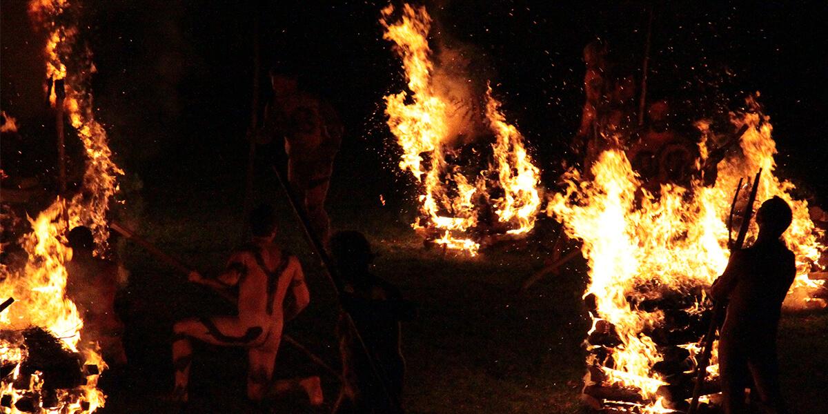 Söhne der Erde Jahrestraining: Feuertanz-Rituale und Coaching für Männer