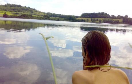 Goldmarie Sprung in den Brunnen Ritual Frauen-Training