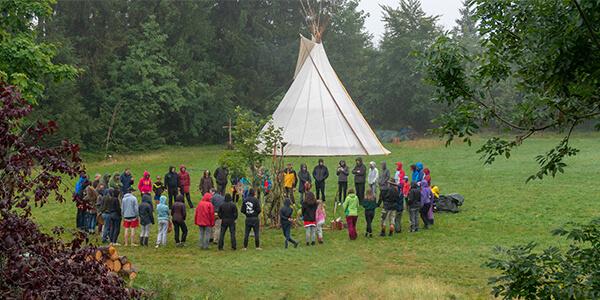Mehrgenerationen Schwarzwald Schamanisches Camp Familien Pfingsten Sommer